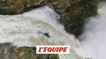 Chute vertigineuse en kayac signée Nouria Newman - Adrénaline - Kayac