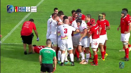 REPLAY PORTUGAL / ROMANIA - RUGBY EUROPE CHAMPIONSHIP 2020