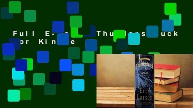 Full E-book  Thunderstruck  For Kindle