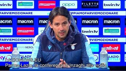 Parma-Lazio, la conferenza pre partita di Simone Inzaghi
