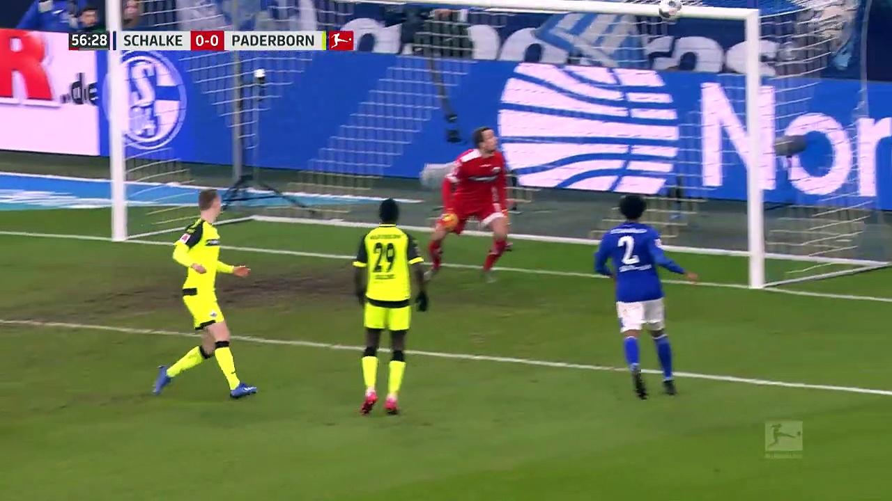 Schalke 04 - Paderborn (1-1) - Maç Özeti - Bundesliga 2019/