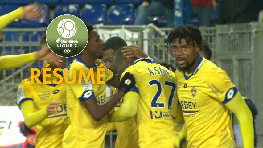 FC Sochaux-Montbéliard - Le Mans FC (1-0)  - Résumé - (FCSM-LEMANS) / 2019-20