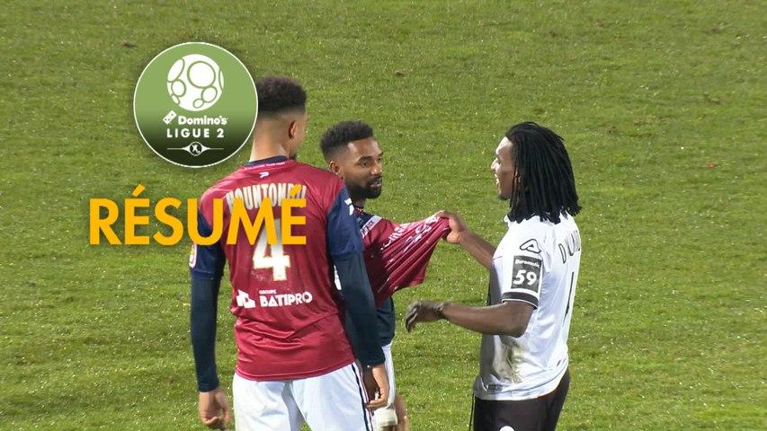 Clermont Foot - Valenciennes FC (3-1)  - Résumé - (CF63-VAFC) / 2019-20