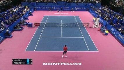 OSDF20 - F. Krajinovic v G. Monfils Highlights