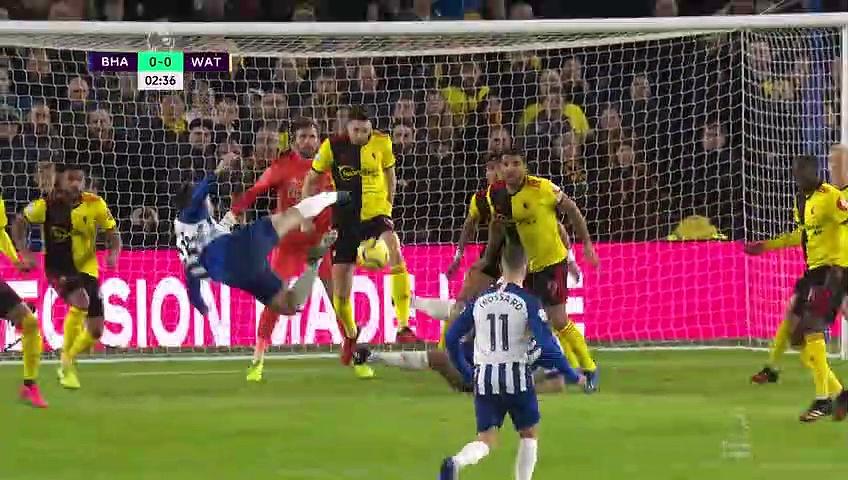 Brighton - Watford (1-1) - Maç Özeti - Premier League 2019/20