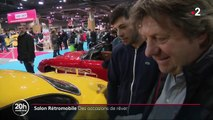 Salon Rétromobile : des voitures de collection accessibles