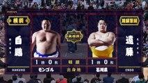 Hakuho vs Endo - Hatsu 2020, Makuuchi - Day 2