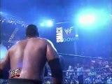 The Rock, Chris Jericho vs Big Show, Kurt Angle, Smackdown, 24 February 2000
