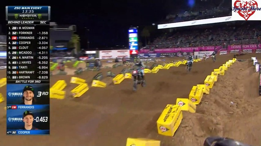 250 SX Main Event San Diego AMA Supercross 2020
