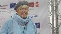Un Pyrénées d'honneur pour Mimie Mathy au Festival de Télévision de Luchon
