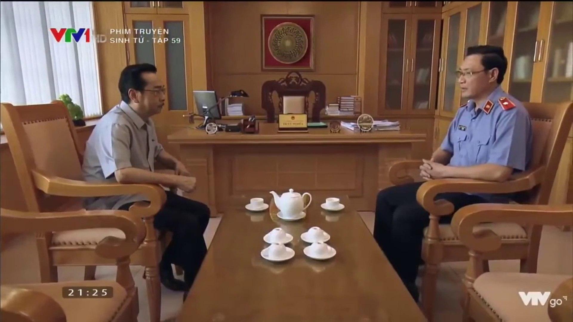 Phim SINH TỬ - Tập 60- Giám đốc ngân hàng Bắc Dĩnh thúc Mai Hồng Vũ lo -đường rút lui-