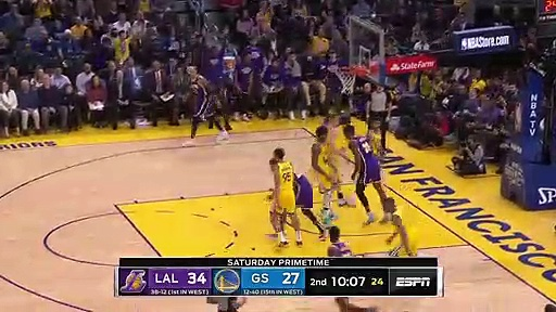 Los Angeles Lakers 125 - 120 Golden State Warriors