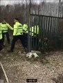 Wigan v PNE police