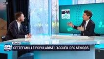 Fabien Henaut (CetteFamille) : CetteFamille popularise l'accueil des seniors - 09/02