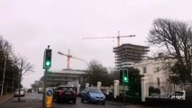 Worthing crane spins in the wind - Video by Kelvin Charles