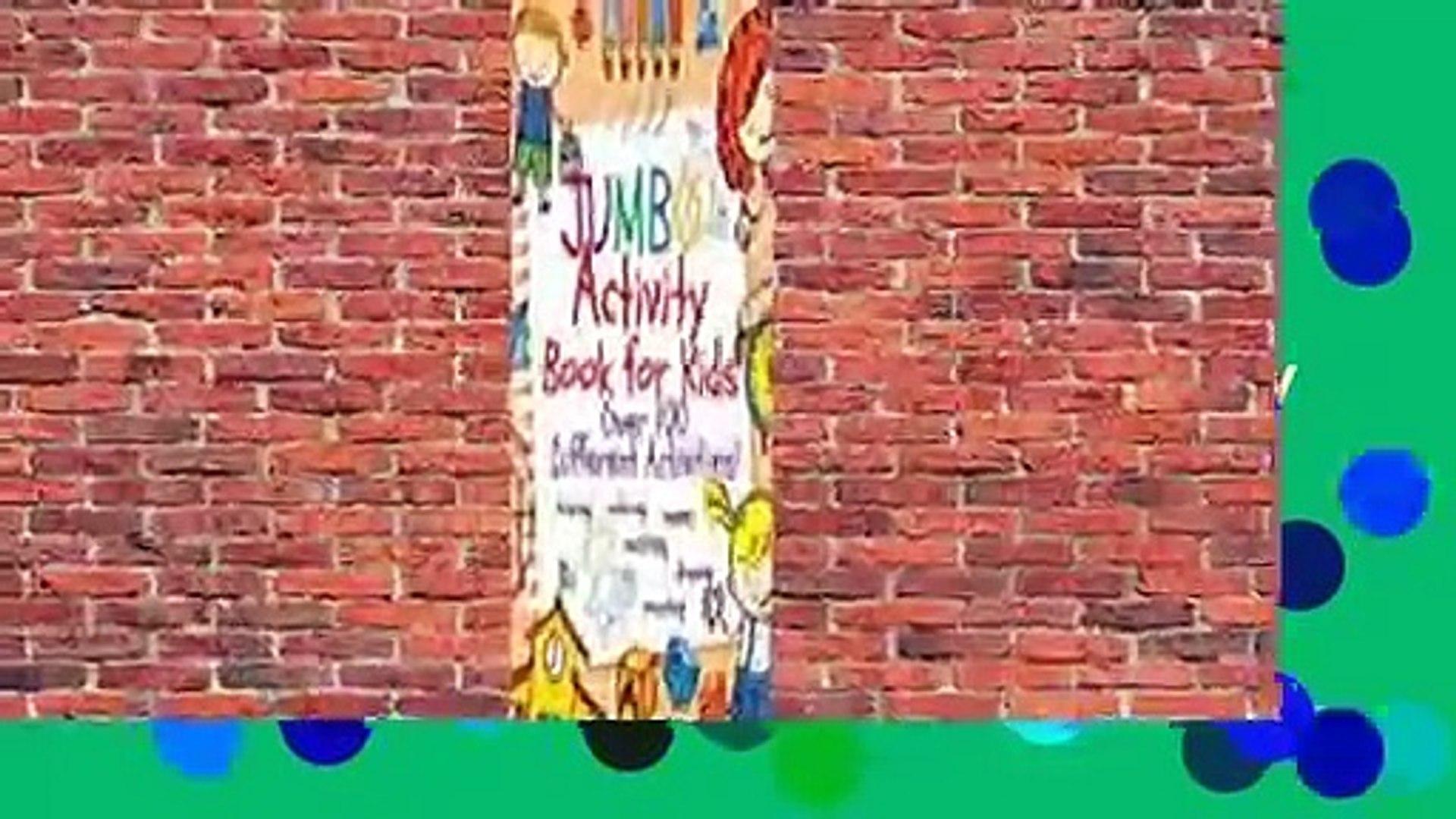 [Read] Jumbo Activity Book for Kids: Jumbo Coloring Book and Activity Book in One: Giant Coloring