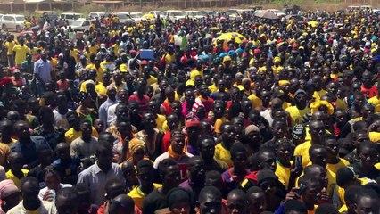 Discours de lancement de Campagnr de Diakaria Koulibaly