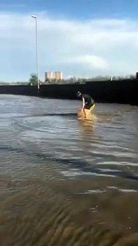 'Gelderd Road Canoeist' Video