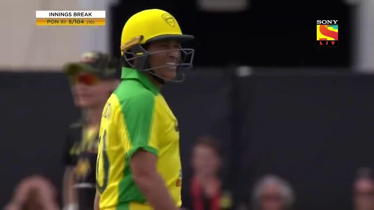 सचिन तेंदुलकर और ब्रायन लारा स्टेडियम में वापस क्रिकेट खेलते हुए (Sachin Tendulkar and Brian Lara playing Cricket back in stadium) – Bushfire Bash 2020 – 9th February, 2020