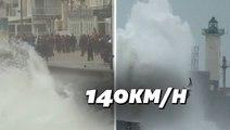 Avec la tempête Ciara, le nord de la France se prépare aux vents violents