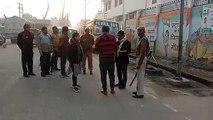 शामली -एसडीएम ने सवेरे कांधला की सड़कों पर निकलकर सफाई व्यवस्था का किया निरीक्षण