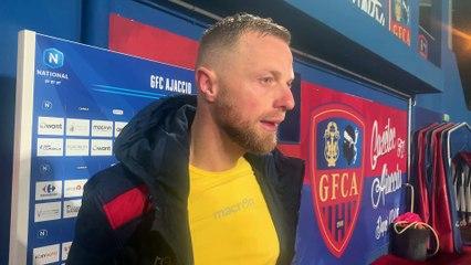 Les réactions du coach F. Ciccolini & de D. Pollet après Bourg en Bresse (1-1)