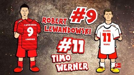 Bundesliga: Werner/Lewandowski Rap Battle! Powered By 442oons