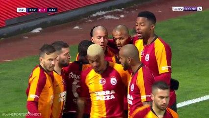 Galatasaray 1-0 Kasimpasa: Own Goal Yassine Meriah