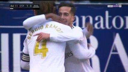 Osasuna 1 - 3 Real Madrid : Goal Lucas Vazquez