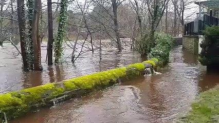 Flooding in Pateley Bridge