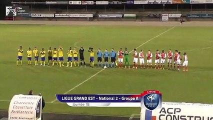 N2, Epinal - Stade de Reims2 (1-1), le résumé