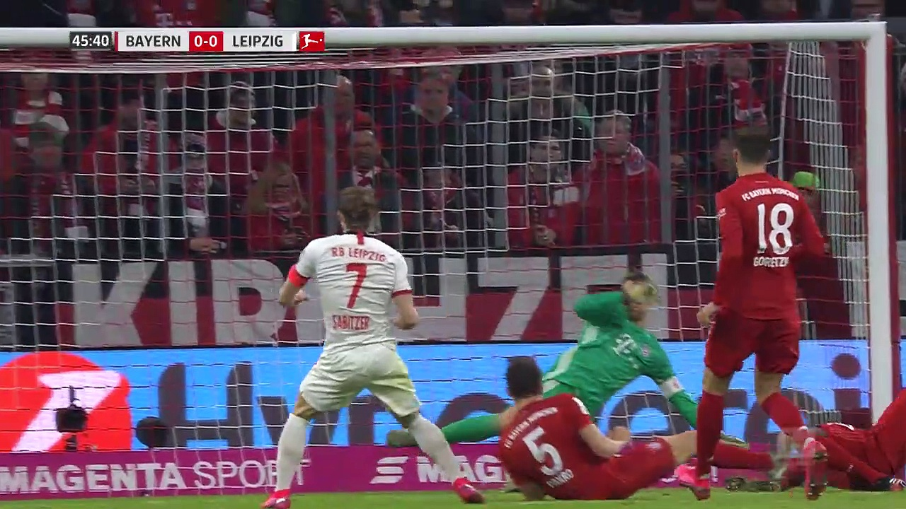 Bayern Münih - RB Leipzig (0-0) - Maç Özeti - Bundesliga 2019/20