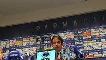 Inzaghi in conferenza stampa