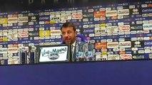 D'Aversa in conferenza stampa