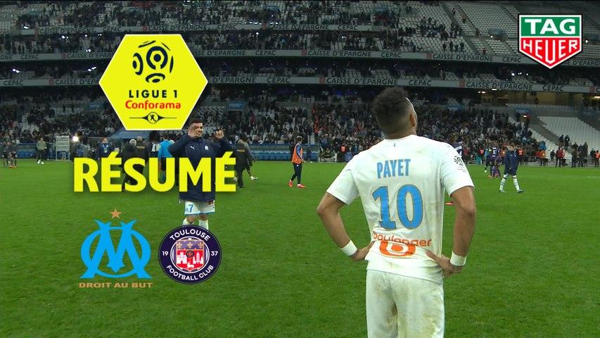 Olympique de Marseille - Toulouse FC (1-0)  - Résumé - (OM-TFC) / 2019-20