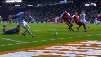 Celta de Vigo 1 - 1 Sevilla : Goal Iago Aspas