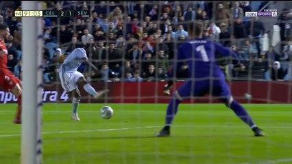 Celta de Vigo 2 - 1 Sevilla : Goal Pione Sisto