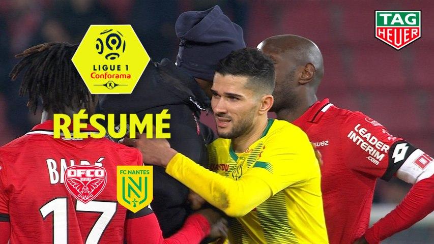Dijon FCO - FC Nantes (3-3)  - Résumé - (DFCO-FCN) / 2019-20
