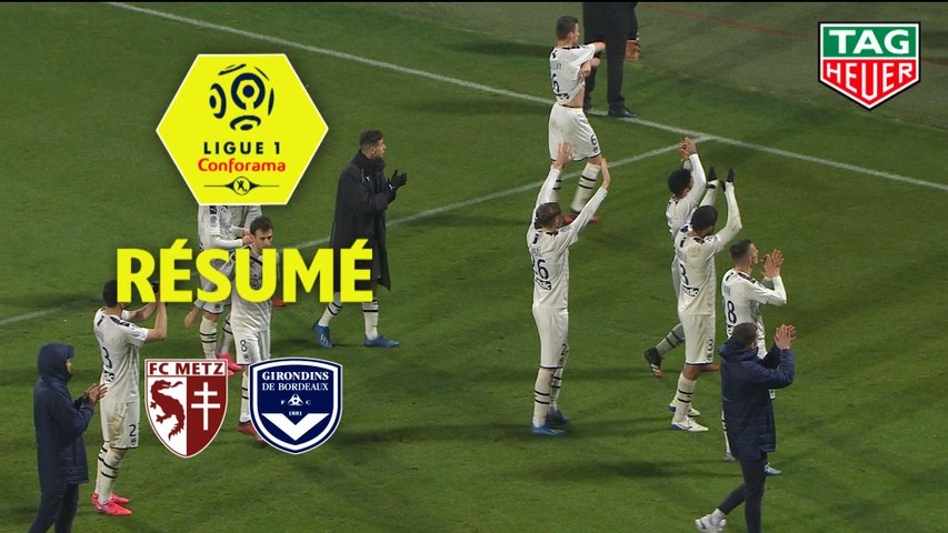 FC Metz - Girondins de Bordeaux (1-2)  - Résumé - (FCM-GdB) / 2019-20