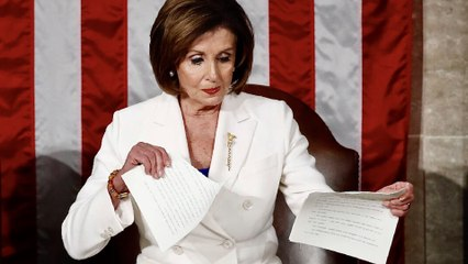 Powerful American Stories Ripped Up by Nancy Pelosi