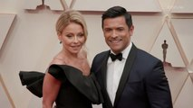 Kelly Ripa and Mark Consuelos Oscars 2020 Red Carpet Arrival