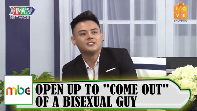 "OPEN UP TO ""COME OUT"" OF A BISEXUAL GUY."