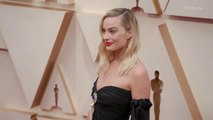 Margot Robbie Oscars 2020 Red Carpet Arrival