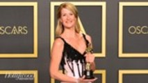 Laura Dern Gives Heartwarming Tribute to Parents During Oscars Acceptance Speech | THR News