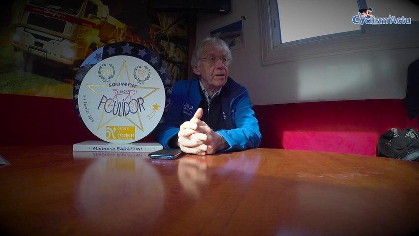 Cyclism'Actu On Board 2020 - L'hommage à Raymond Poulidor de Daniel Mangeas et le peloton de l'Etoile de Bessèges
