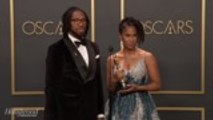 'Hair Love' Director Matthew A. Cherry Discusses Best Animated Short Win Backstage at Oscars 2020