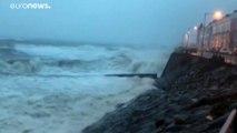 Warum heißt das Sturmtief Sabine? 50.000 in Bayern ohne Strom