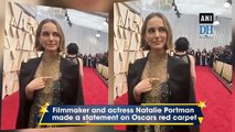 Natalie Portman's Oscars 2020  attire features names of snubbed female directors