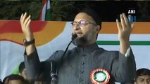 Ready to take bullets in chest but will not show papers: Owaisi