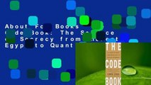 About For Books  The Code Book: The Science of Secrecy from Ancient Egypt to Quantum Cryptography